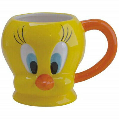 Looney Tunes Tweety Bird Figural Head 18 oz Ceramic Coffee Mug NEW UNUSED