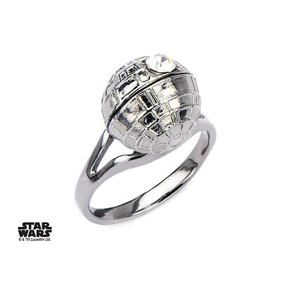 Star Wars Ring 3D Death Star Size 09 SASO Rings