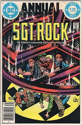 Sgt Rock Annual #3, DC 1983, Canadian price variant