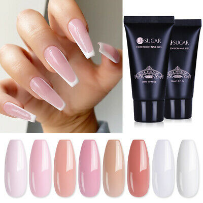 30ml UR SUGAR Quick Building Crystal UV Poly Builder Gel Nail Finger Extension