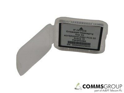 Avaya IP406v2 & IP500 IP Office Embedded Messaging Voicemail Card 700343460