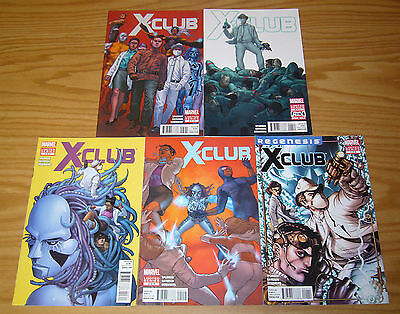 X-Club #1-5 VF/NM complete series - simon spurrier x-men spin-off set lot 2 3 4