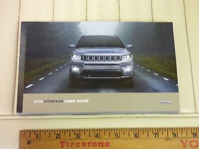 2018 JEEP COMPASS User Guide Owners Manual OEM NEW