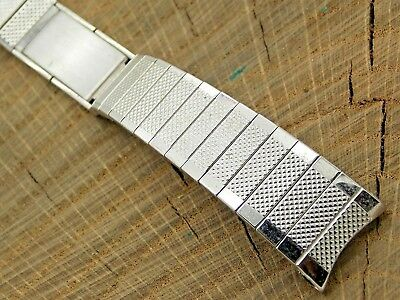 NOS Unused Speidel Gold Filled Vintage Watch Band 17.5mm Expansion Bracelet