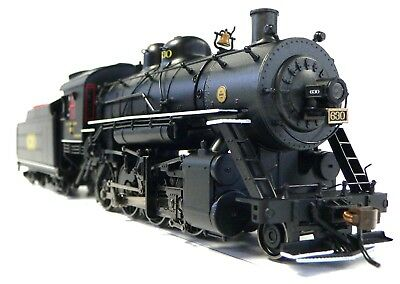 HO Scale Model Railroad Trains Engine Southern 2-8-0 DCC Sound Steam Locomotive