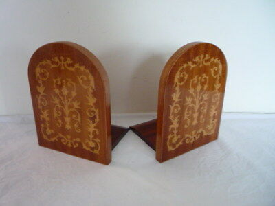 Fabulous Vintage Pair Of Sorrento Ware Book Ends