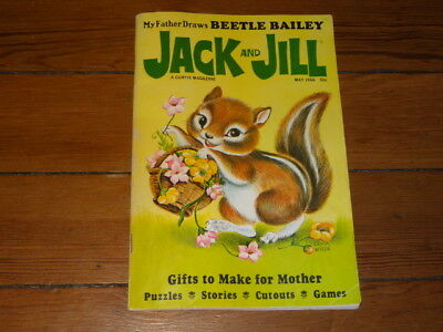 JACK AND JILL A CURTIS MAGAZINE MAY 1966 (Vintage Children's Kids Magazine)