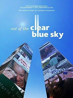 Out of the Clear Blue Sky (DVD, 2014) World Trade Center 9/11 Cantor Fitzgerald