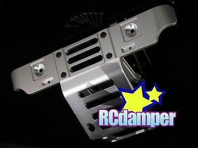 Aluminum Front Bumper Guard S Monster Gt 4.6 8.0 Mgt Thunder Tiger Mta4 Rival Mt