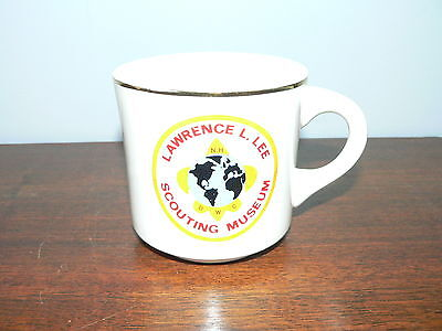 Vintage Boy Scouts of America Lawrence L. Lee Scouting Museum Mug~BSA