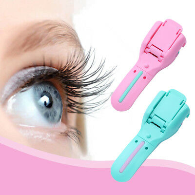 Eyelash Curler Professional False Eyelash Tweezer Curling Clip Makeup Tool