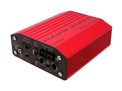 Hawg Wired CS300 Competition Series 300W Amplifier For Harley FLHT FLHX FLTR