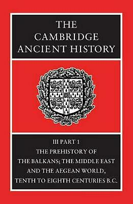 The Cambridge Ancient History by P. Mack Crew (English) Hardcover Book Free Ship