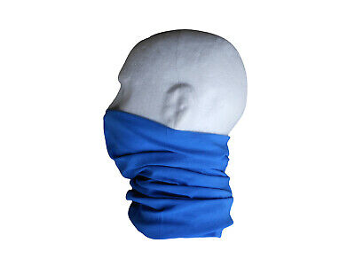 Neck/Face Warmer Tube Bandana Microfibre Royal Blue