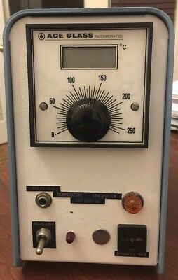 Ace Glass RTD PT-100A Temperature Controller Cat. No. 12105-14