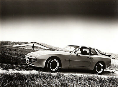 Porsche 944 Coupe, Period Photograph.
