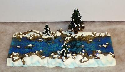 Dept 56 Village Mill Creek Straight Section #52633 mint in box