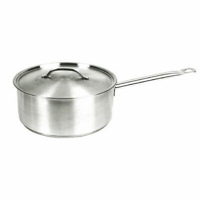 Thunder Group SLSSP060 6 Qt Stainless Steel Induction Sauce Pan