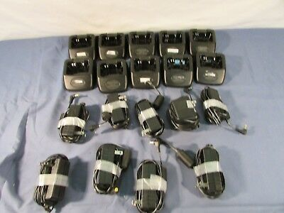 Lot of 10 Kenwood KSC-37 Rapid Chargers for TK-3230XLS Radios