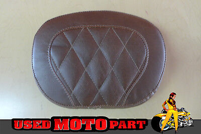 Mustang 76774 Vintage Distressed Brown Setback Sissy Bar Pad