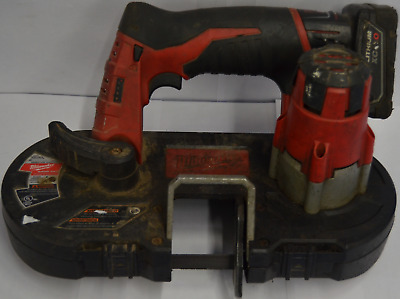 Milwaukee 2429-20 12V Band Saw w/Battery