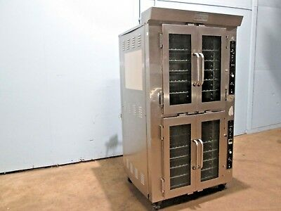 """doyon Ja14"" Hd Commercial Electric Jet-Air Bake/steam Dbl Stacked Baking Oven"