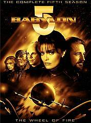 Babylon 5 - The Complete Fifth Season - Wheel of Fire (DVD, 2009, 6-Disc Set)