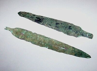 Collection of 2 prehistoric Bronze Age items c. 1500 B.C.