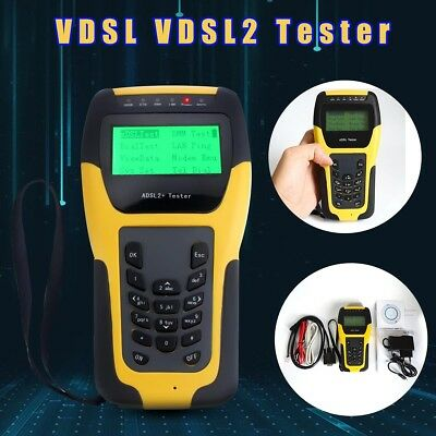 ST332B Digital ADSL ADSL2 Wan&Lan Tester Line Network Test Meter + Soft Bag