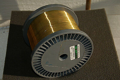 NEW- Belmont WIRE YELLOW BRASS ~FACTORY SEALED! Spool 0.20mm roll GUARANTEED!