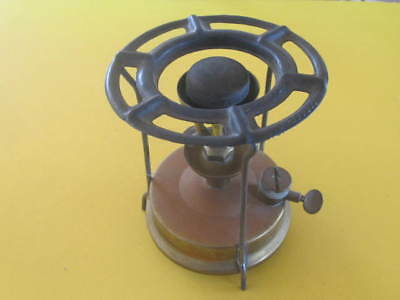 Vintage Brass Camping Stove Solid well made British
