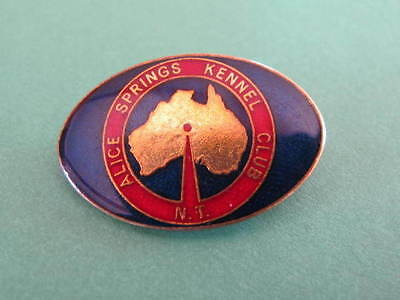 Alice Springs Dog Kennel Club Badge