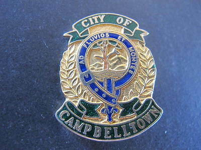 City of Campbelltown Council Enamel Badge