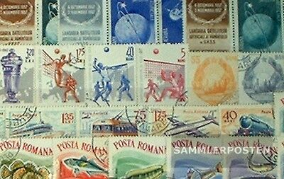 Romania 200 different special stamps  in complete Expenditure
