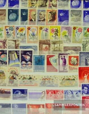 Romania 250 different  special stamps in complete Expenditure