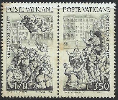 1977 Vatican 6th centenary of Pope Gregory XI's return from Avignon to Rome MNH