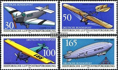 FRD (FR.Germany) 1522-1525 (complete.issue) used 1991 airmail