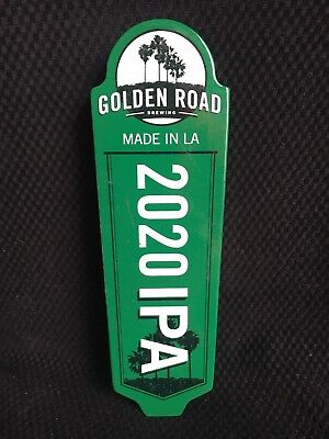 """Golden Road Made In L.a. 2020 Ipa 8.5"""" Double Sided Tap Handle Free Shipping"""