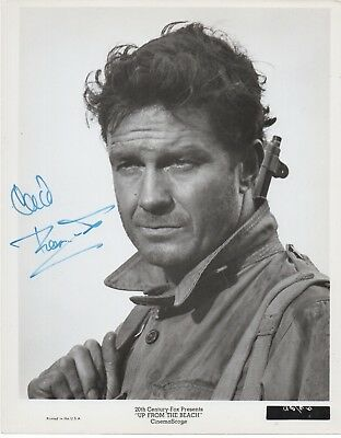 CLIFF ROBERTSON 'SPIDER-MAN' HAND SIGNED AUTOGRAPHED 8x10 PHOTO