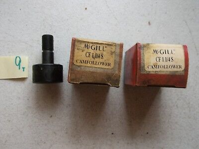 Lot Of 2 New In Box Mcgill Cf 1 1/4 S Cam Follower (114-1)