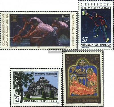 Austria 2009,2010,2011,2012 (complete.Expenditure) unmounted mint / never hinged
