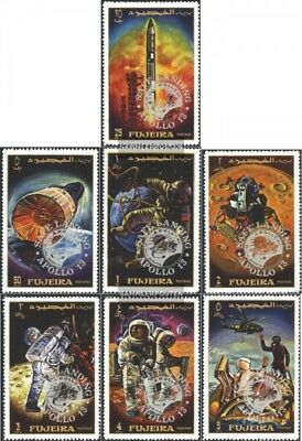 Fujeira 456A-462A (complete issue) unmounted mint / never hinged 1970 Apollo 13