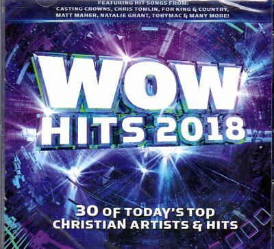 WOW Hits 2018 - Various Artists (NEW 2 CDs)
