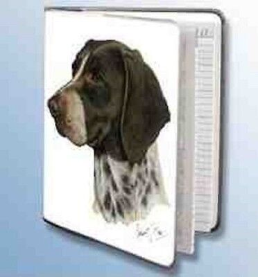 Retired Dog Breed GERMAN SHORTHAIR Vinyl Softcover Address Book by Robert May