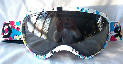a2e2f6109cf5  120 RARE Scott Mens Off Grid White Snow Winter Ski goggles Smith blue red  pink