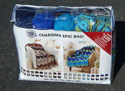 Loops & Threads Charisma Epic Bag Ashes and Sunny Day, New & Smoke Free Home 2n1