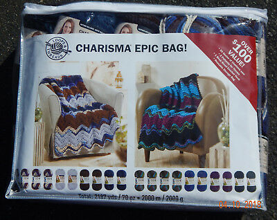 Loops & Threads Charisma Epic Bag Lakeside and Northern Lights, New & Smoke Free