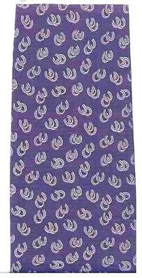 Quality Museum Artifacts HORSE SHOE Design Navy Color Mens Silk Necktie