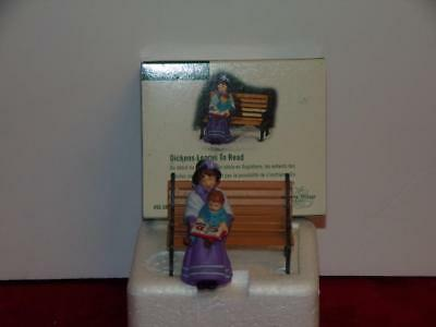 Dickens Learns To Read, Dickens Village, , Dept 56 #58577,mib