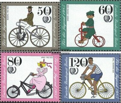Berlin (West) 735-738 (complete.issue) unmounted mint / never hinged 1985 Youth
